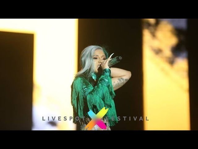 VIDEO: Cardi B Live Performance In Lagos, Nigeria [Livespot Festival 2019]