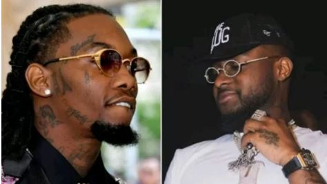 Davido Reacts To Alleged Twitter Beef With Cardi B's Lover, Offset