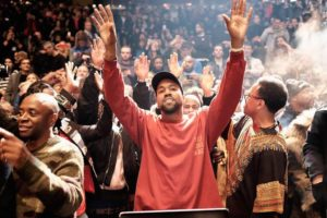 Kanye West Remixes 'Brown Skin Girl' into a Gospel Song (Video)