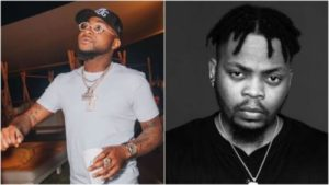 Watch Moment Davido Snubbed Olamide At Kizz Daniel's Concert Despite Running After Him
