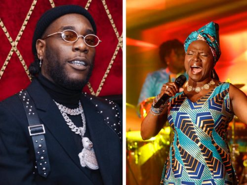 Angelique Kidjo Pay Visit To Burna Boy And Mom