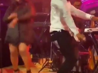 Burna Boy Seen Performing At The Grammys Reception Ahead Of The Ceremony (Video)