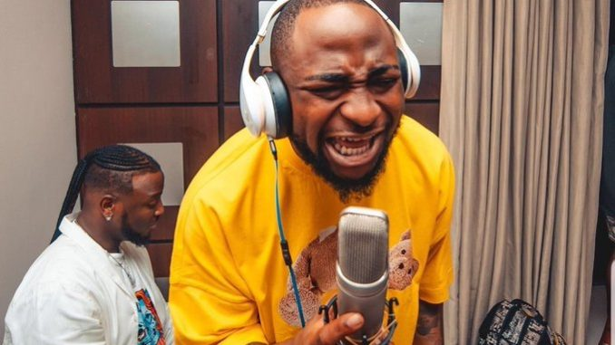 Davido, Bred, Storm Church With Family (Video)