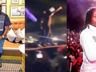 Naira Marley Brought Mompha On Stage At A Concert (Video)