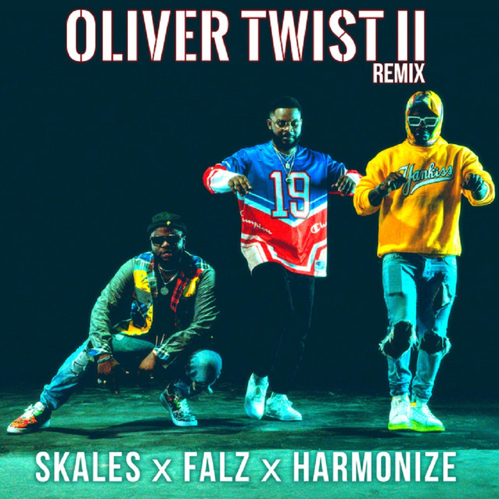 Skales – Oliver Twist (Remix) ft. Falz, Harmonize