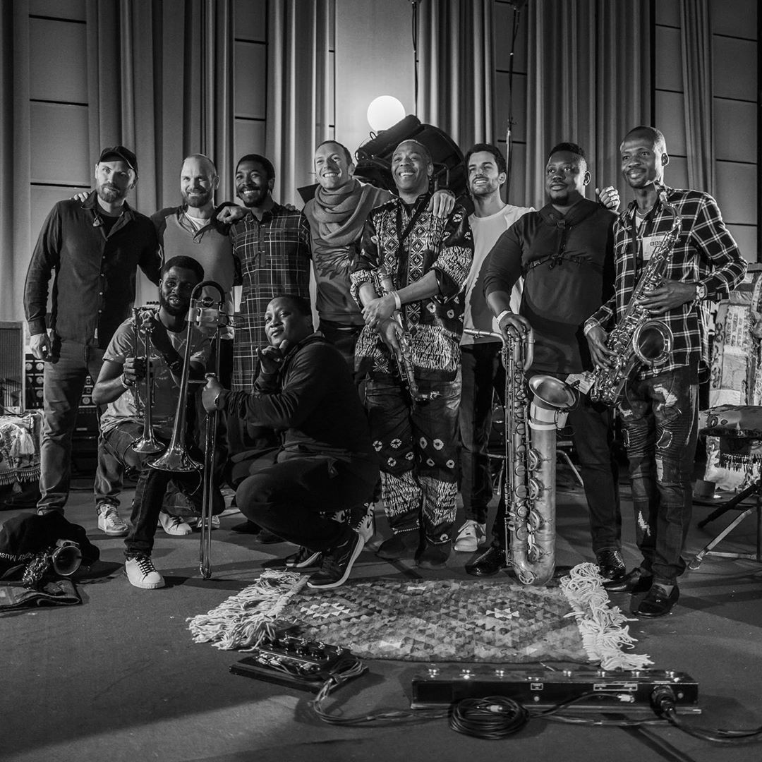 Watch Femi Kuti and Coldplay's Jaw-Dropping Performance