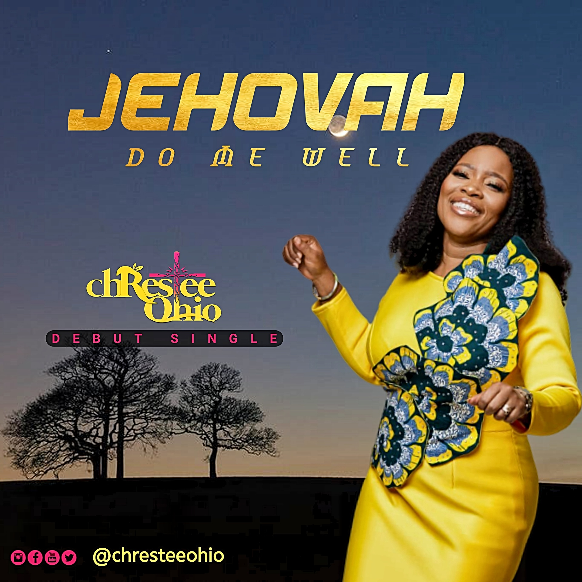 Christie Ohio – Jehovah Do Me Well
