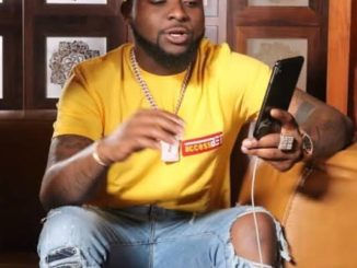 Singer, Davido buys new puppy, names it 30 (Photos)