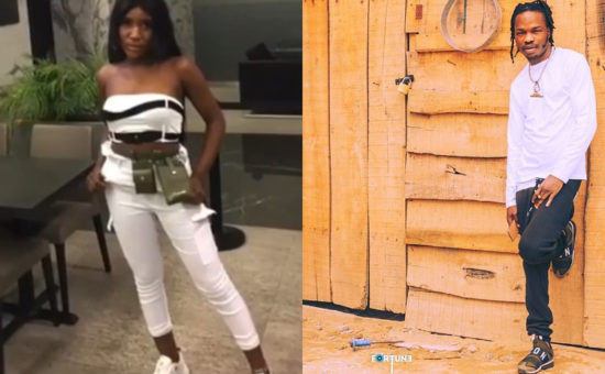 Lady leaks bedroom video with Naira Marley after sleeping with him (Video)