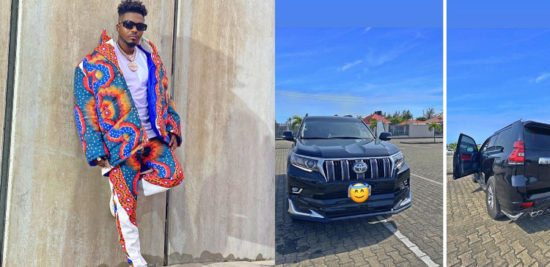 Skiibii celebrates as he buys himself a new car