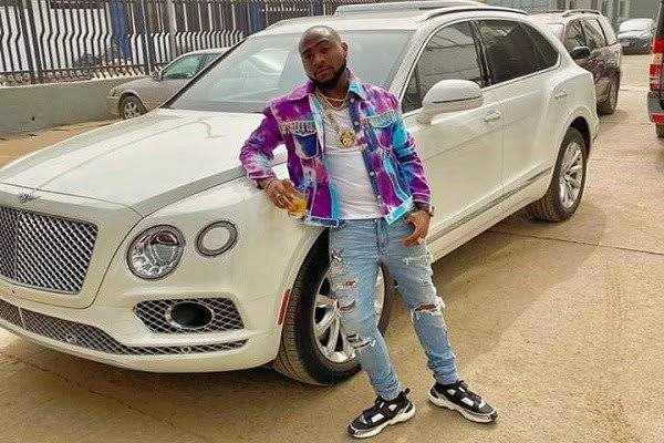 Davido expresses readiness to sell his car to help Nigerians affected by covid-19