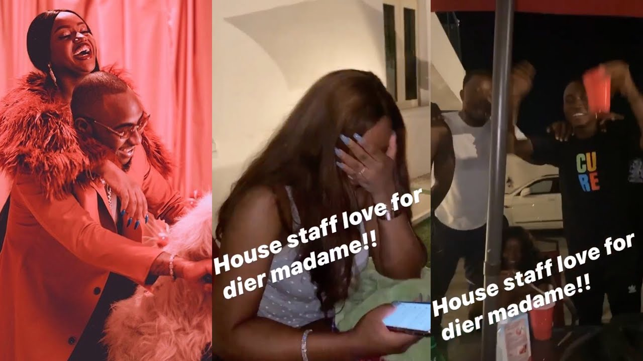 VIDEO: Davido's 30BG Celebrate Chioma On Birthday