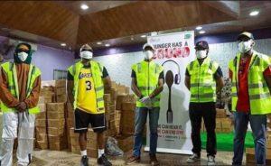 Olamide partners Seyi Tinubu to donate food