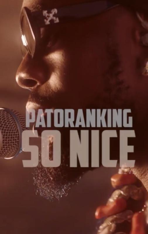 Patoranking – So Nice (Acoustic)