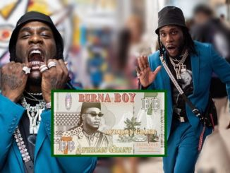 Burna Boy's African Giant Becomes The Most Streamed African Album On Spotify