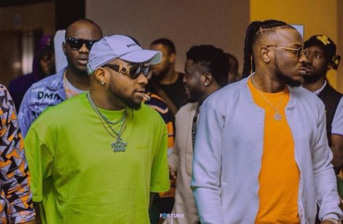 Peruzzi Previews A New Song Produced By Davido