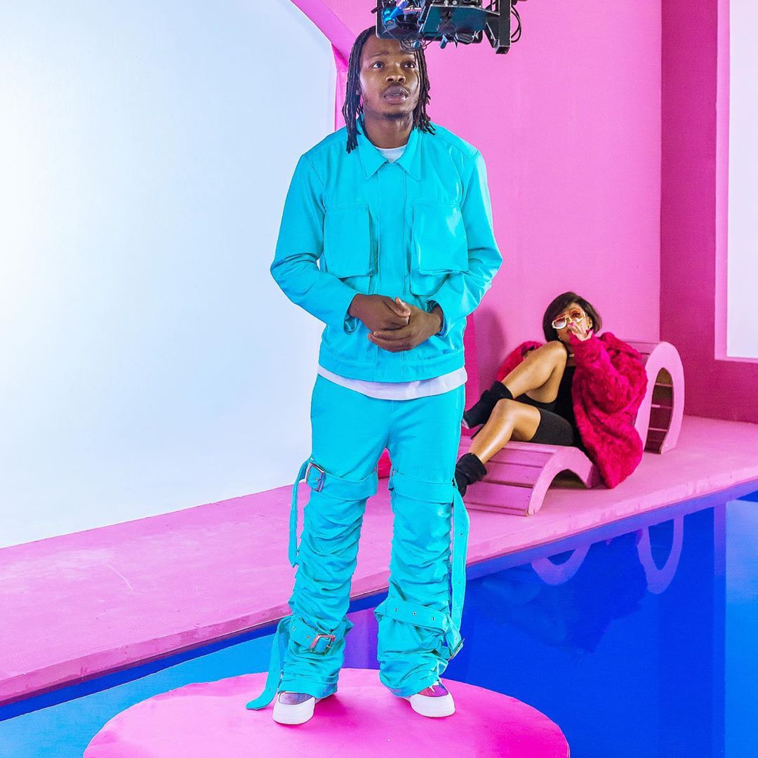 Naira Marley signs first female artiste, Torikeeche to his record label (photos)