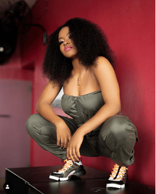 Check out Davido's first female DMW artiste, Liya