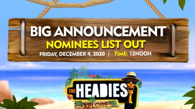 Check Out The Headies 2020 Nominee List