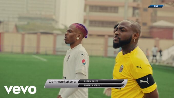 VIDEO: Davido – La La ft. Ckay