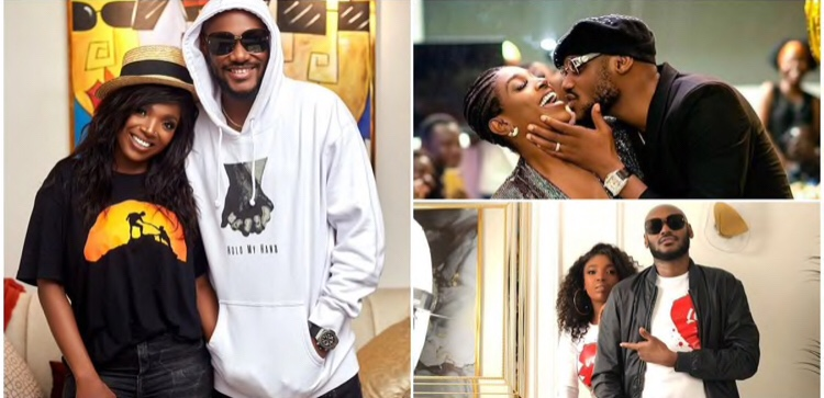 2baba Kisses Annie in Romantic Photo As He Marks New Age