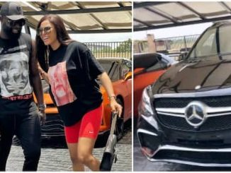 Amid Celebrity Marriage Dramas, Designer Yomi Casual Surprises Wife As He Appreciates Her With Mercedes Benz