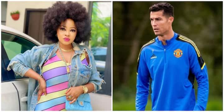 Actress Funmi Awelewa Ecstatic as Football Star Cristiano Ronaldo Views Her Instastory