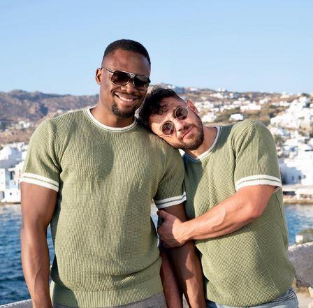 Nigerian Nurse Based In The UK Shows Off His Caucasian Boyfriend